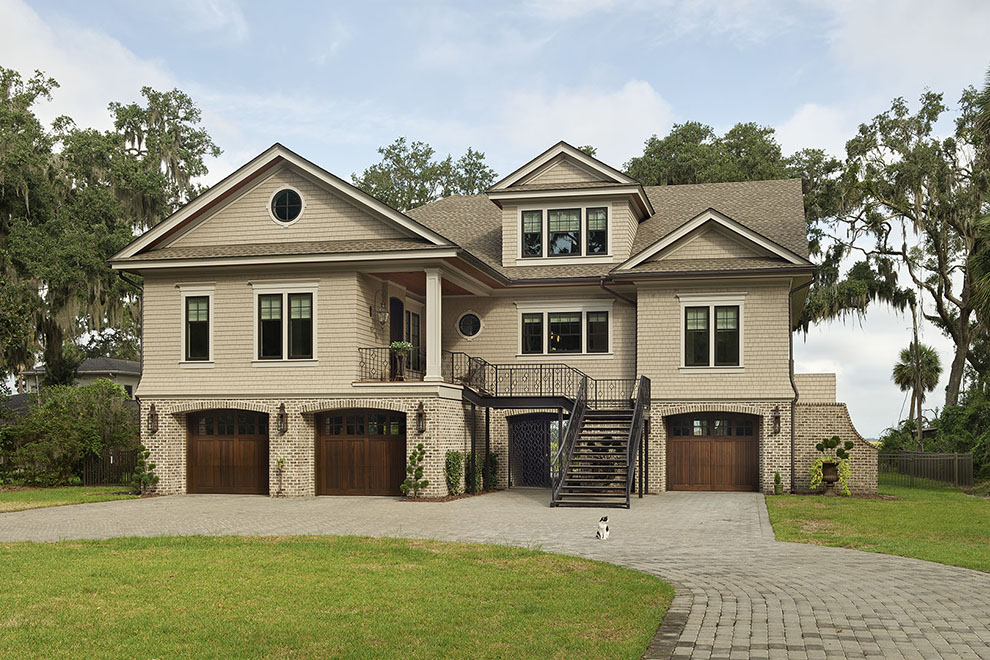Custom home on Falligant Avenue in Savannah - Camens Architecture Group