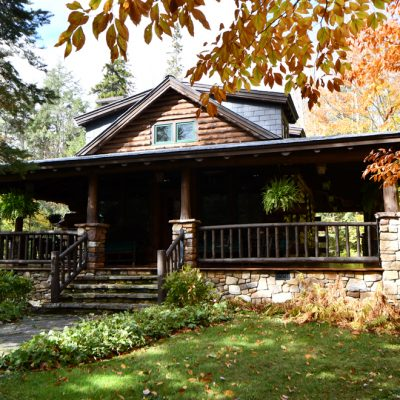 Architects In The Adirondacks-Camens Architectural Group Front Elevation