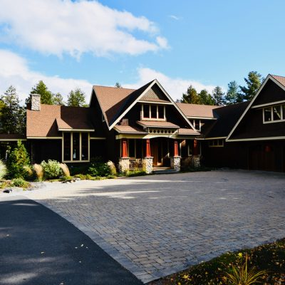 Architecture Firms In The AdirondacksResidential Front Elevation