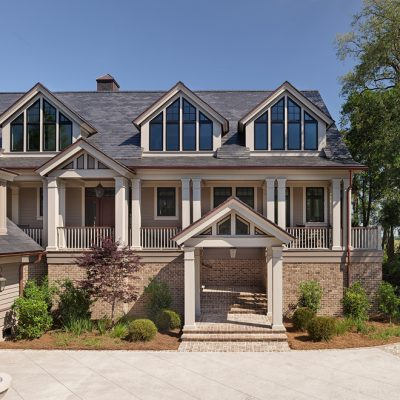 Marc Camens Chief Architect Kiawah Island 173 High Dunes Lane Front Elevation