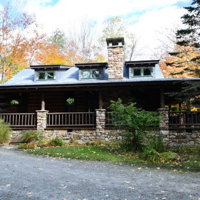 Architects In The Adirondacks-Camens Architectural Group Rear Elevation