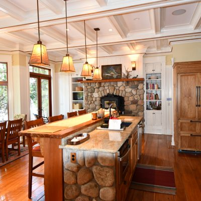 Architecture Firms In The Adirondacks Residential Kitchen