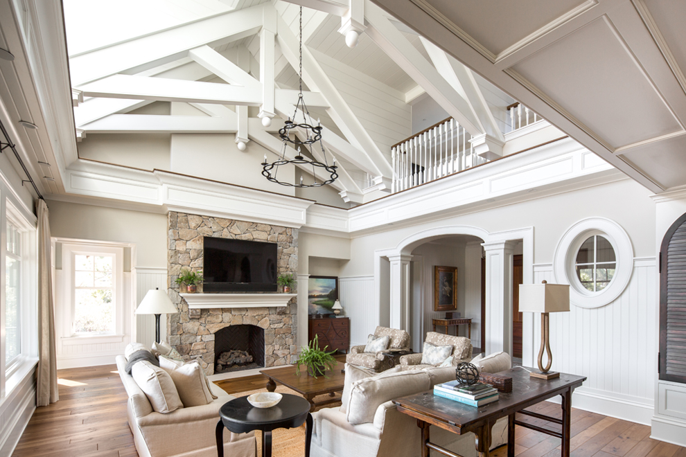 Marc Camens Architectural Designs Vaulted Ceiling