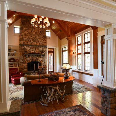 Architecture Firms In The Adirondacks Residential Living Room