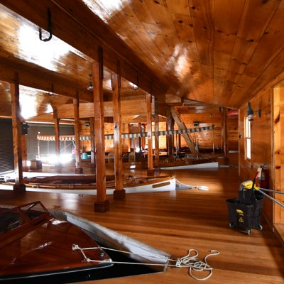 Commercial Architectural Designs Adirondacks Marc Camens Cedar Boathouse 1