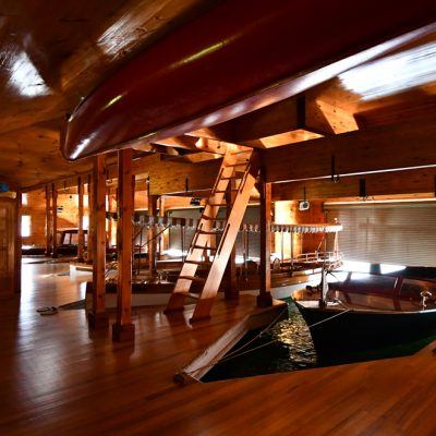 Commercial Architectural Designs Adirondacks Marc Camens Cedar Boathouse 2