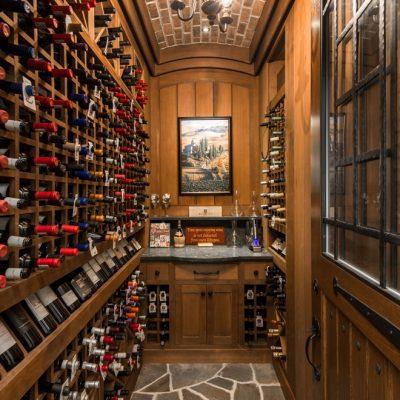 Marc Camens Architectural Designs Wine Room