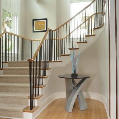 Marc Camens Architectural Firm Charleston SC Foyer Stairs