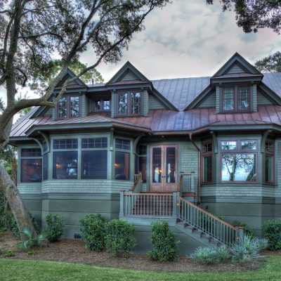 Camens Architectural Firms In Kiawah Island SC Rear Exterior