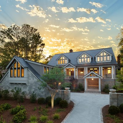 Marc Camens Chief Architect Kiawah Island 173 High Dunes Lane Dusk