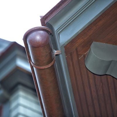 Camens Architectural Firms In Kiawah Island SC Detail Copper Gutters
