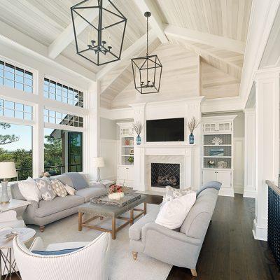Best Residential Architects | Marc Camens | Lemoyne Lane | Living Room