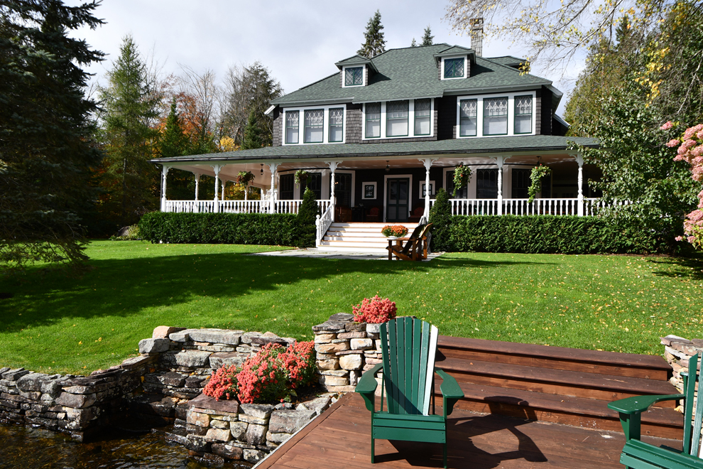 Building In The Pristine Wilderness Of The Adirondacks