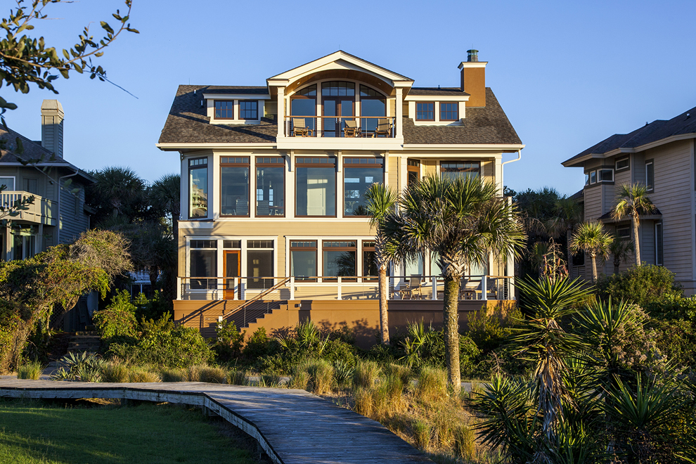 Inspired By The Ocean: A Turtle Beach Home
